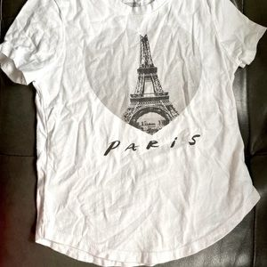 Paris Old Navy T-shirt Gently Used Size Small